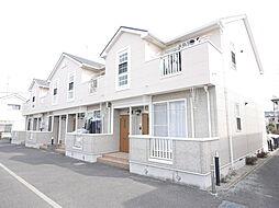 神奈川県座間市四ツ谷の賃貸アパートの外観