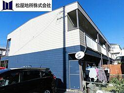 愛知県豊橋市東小鷹野1丁目の賃貸アパートの外観