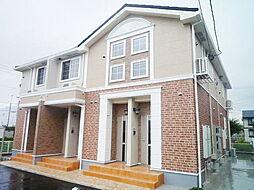 愛知県岡崎市井田西町の賃貸アパートの外観