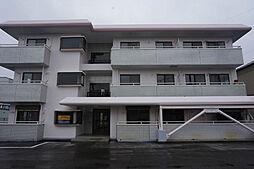 栃木県小山市城北3丁目の賃貸マンションの外観