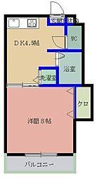 サンオークII[306号室]の間取り