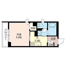(仮)緑区橋本5丁目シャーメゾン 1階1Kの間取り
