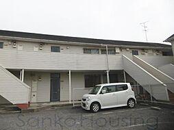 正楽北田ハイツB棟[2階]の外観