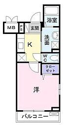 ブロッコリー[2階]の間取り