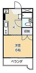 第3ふじたけマンション[102号室]の間取り