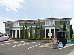 茨城県下妻市下木戸の賃貸アパートの外観
