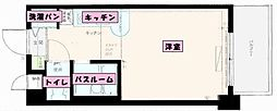 JGM福大前[305号室]の間取り
