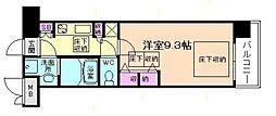 NORTH VILLAGE BIRTH PLACE本館[3階]の間取り