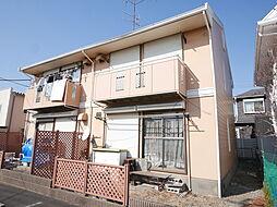 神奈川県厚木市下依知の賃貸アパートの外観