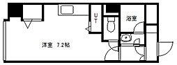 北海道札幌市白石区栄通8丁目の賃貸マンションの間取り
