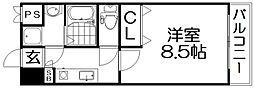 ラ・ヴァルス[4階]の間取り