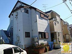 千葉県市川市平田4丁目の賃貸アパートの外観