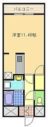 エリゼガーデン[3階]の間取り
