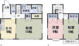 [一戸建] 滋賀県栗東市川辺 の賃貸【/】の間取り