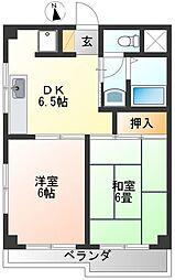 東京都杉並区和泉3丁目の賃貸マンションの間取り