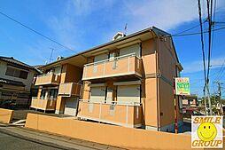 千葉県市川市国分3丁目の賃貸アパートの外観