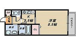 レジデンスブリランテ[3階]の間取り