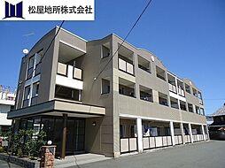 愛知県豊橋市大村町字大賀里の賃貸マンションの外観