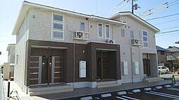 茨城県結城市新福寺6丁目の賃貸アパートの外観