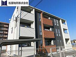 愛知県豊橋市草間町字郷裏の賃貸アパートの外観