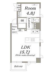 LDK STANDARD[201号室]の間取り