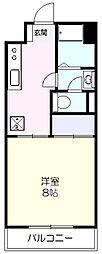 新屋第一マンション[305号室]の間取り