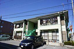 栃木県宇都宮市緑5の賃貸アパートの外観