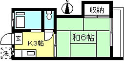 スカイライト[2階]の間取り
