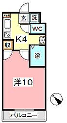 ヴェルニパレ[6階]の間取り