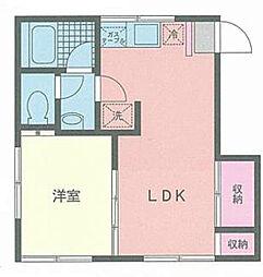 サンライフ和泉[1階]の間取り