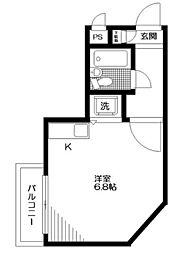 コンフォート井荻[1階]の間取り