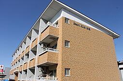 愛知県岡崎市舳越町字神道の賃貸マンションの外観