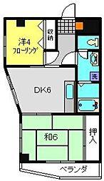 パークシティ96[4階]の間取り