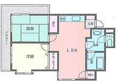 エモン壱番館[3階]の間取り