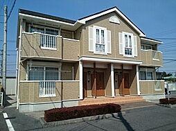 栃木県栃木市泉川町の賃貸アパートの外観