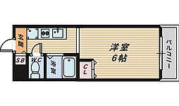 大阪府堺市堺区中永山園の賃貸マンションの間取り