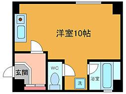 シンエイ第8東船橋マンション[4階]の間取り