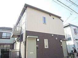 東京都調布市佐須町3丁目の賃貸アパートの外観
