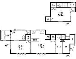 ワイズホーム[1階]の間取り