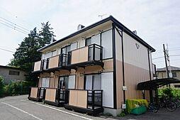 栃木県宇都宮市大和1丁目の賃貸アパートの外観