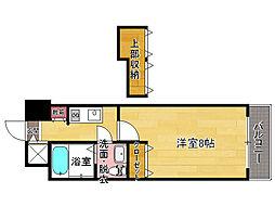No81 AMARIGE[2階]の間取り