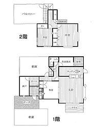 [一戸建] 福岡県大野城市月の浦1丁目 の賃貸【/】の間取り