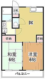 KS中央マンション[2階]の間取り