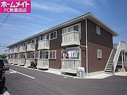愛知県豊田市青木町5の賃貸アパートの外観