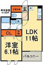 JR総武線 稲毛駅 バス20分 京葉自動車教習所入口下車 徒歩3分の賃貸マンション 5階1LDKの間取り