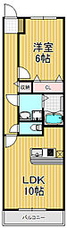 セイバリーレイン[3階]の間取り