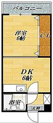 GROOVE米原・2II[1階]の間取り