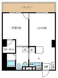 コンフィアンス[3階]の間取り