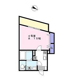 AJ新鎌ヶ谷[2階]の間取り