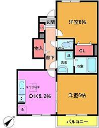 サンガーデン和泉 壱番館[1階]の間取り